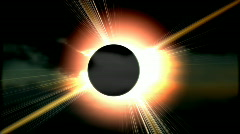 Total solar eclipse 1 HD Stock Footage