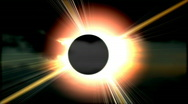 Stock Video Footage of Total solar eclipse 1 HD