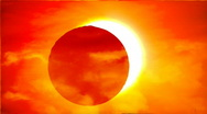 Stock Video Footage of Total solar eclipse 3 HD
