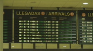 Airport Terminal Arrivals with Sound Stock Footage