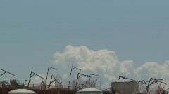 Bubbling Cumulus Clouds Time Lapse - stock footage