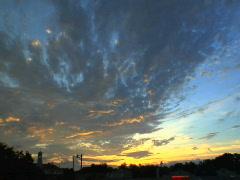 Dusky Sky Stock Footage