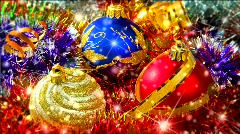 Christmas balls Stock Footage