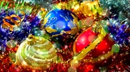 Stock Video Footage of Christmas balls