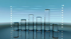 Glass Chart Stock Footage