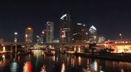 Tampa Riverside Stock Footage