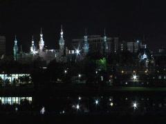 UT at Night Stock Footage