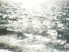 Ocean Overexposed Stock Footage