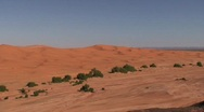 Stock Video Footage of Erg Chebbi Dunes in Sahara and Guide