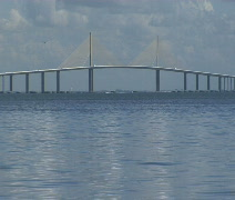 Sunshine Skyway MED Stock Footage