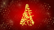 Christmas tree 02 Stock Footage