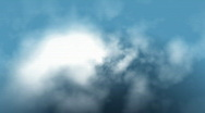 Stock Video Footage of Clouds fly trough loop