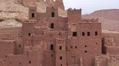 Ait Benhaddou Morocco Stock Footage