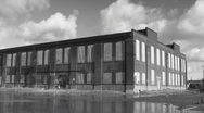 Abandoned Factory. Timelapse. Blk&white. Stock Footage