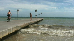 Pier On Key West, FL  - stock footage