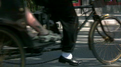 The pedicabs 2 Stock Footage