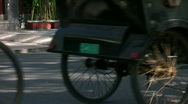 Stock Video Footage of The pedicabs 2