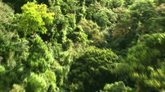 Wild helicopter ride Stock Footage