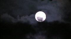 Fullmoon sky 01 - stock footage