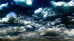 Ominous Storm Clouds 030 Stock Footage