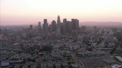 LA aerials. Stock Footage