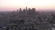 Stock Video Footage of LA aerials.