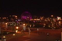 Manila at night - stock footage