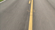 Street lines deviders 03 Stock Footage