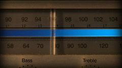 Tuning vanha AM FM Radio 038 - Front Arkistovideo