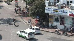 Hanoi street Stock Footage