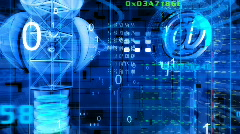 Cyberspace01 Stock Footage