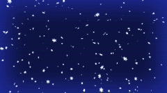 Blue snow  Stock Footage