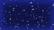 Blue snow  Stock Footage