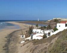 Beach of Fuerteventura Stock Footage