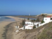 Beach of Fuerteventura Stock Footage