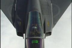 CU Draken pilot Stock Footage
