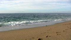 Porthleven beach Stock Footage