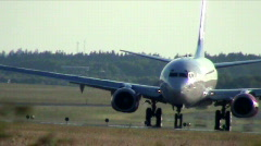 Stock Video Footage of Jet Plane