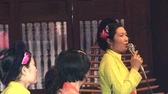Vietnamese singer Stock Footage