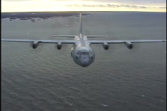 C130b - stock footage