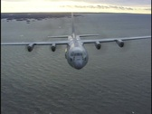 Stock Video Footage of C130b
