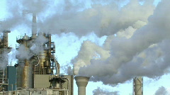 Air Pollution - stock footage