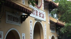 Vietnamese temple Stock Footage