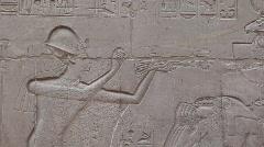 Hieroglyphics & Columns  Stock Footage