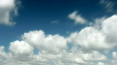 Seamlessly loopable timelapse of clouds - HD720p Stock Footage