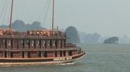 Cruising in Vietnam Stock Footage