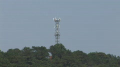 Cellphone mast, Vietnam Stock Footage