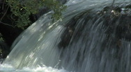 Stock Video Footage of Brush Creek Waterfall 1