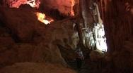 Surprise Cave, Ha Long Bay, Vietnam Stock Footage