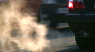 Stock Video Footage of Car smoke